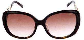 Chopard Oversize Embellished Sunglasses