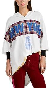 """Faith Connexion Women's """"New York Is My Hometown"""" Hooded T-Shirt - White"""