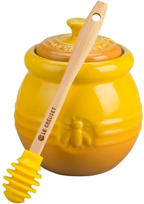Le Creuset Honey Pot with Honey Dipper