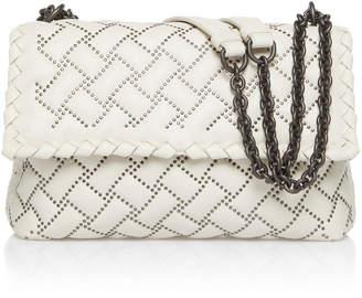 Bottega Veneta Olimpia Microstud Leather Shoulder Bag