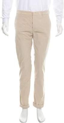 Prada Flat Front Corduroy Pants