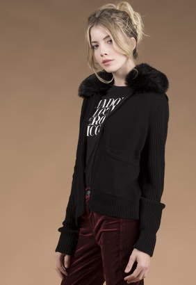 Singer22 TYLER BOMBER JACKET WITH DETACHABLE FAUX FUR COLLAR