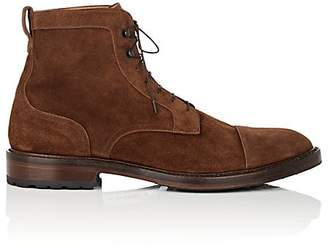 Barneys New York Men's Burnished Suede Boots