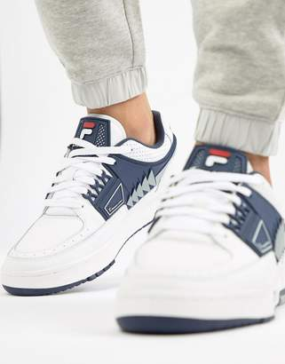 Fila Tourissimo Low Trainer In White