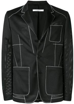 Givenchy front pocket tailored jacket