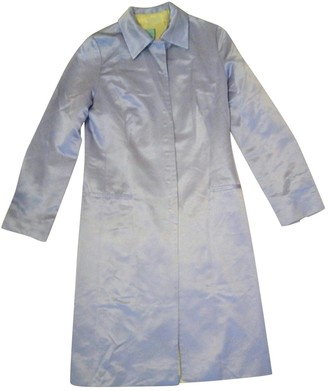 Whistles Purple Cotton Coat for Women