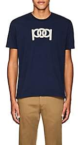 Pop Trading Company POP TRADING COMPANY MEN'S LOGO COTTON T-SHIRT-NAVY SIZE M