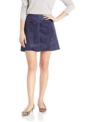 1c01067297 BCBGMAXAZRIA Women s Welt Pocket Faux Suede Skirt
