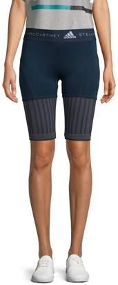 adidas by Stella McCartney Contrast Stretch Bike Shorts