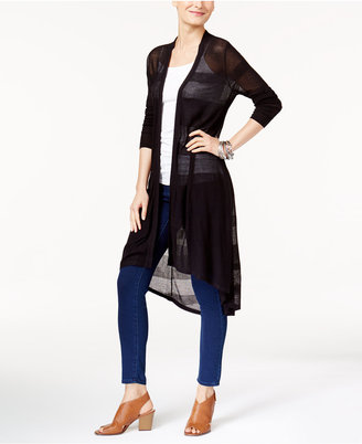 Style & Co High-Low Duster Cardigan, Only at Macy's $69.50 thestylecure.com