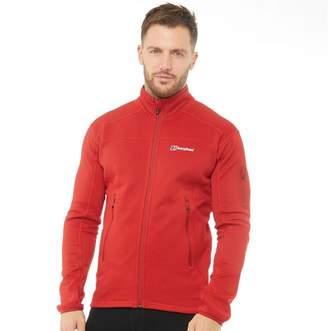 Berghaus Mens Pravitale 2.0 Mountain Fleece Jacket Extrem Red/Tango Red