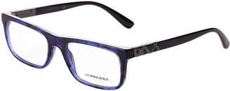 Burberry B 2240 Blue & Black Rectangular Optical Frames