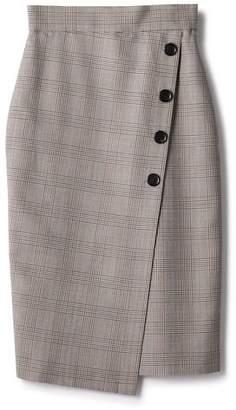 ESTNATION (エストネーション) - ESTNATION グレンチェックボタンスカート