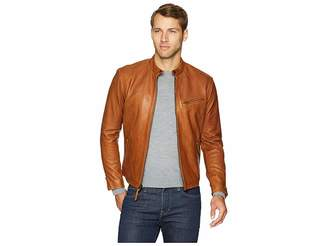 Polo Ralph Lauren Cafe Racer Leather Jacket