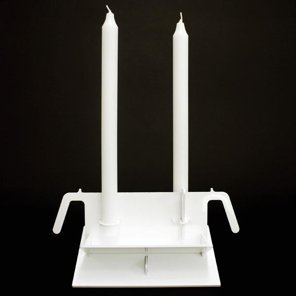 Artecnica - candle clamps by studio tord boontje for artecnica