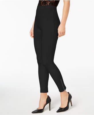 Hue Women's Simply Stretch Ankle-Zip Leggings
