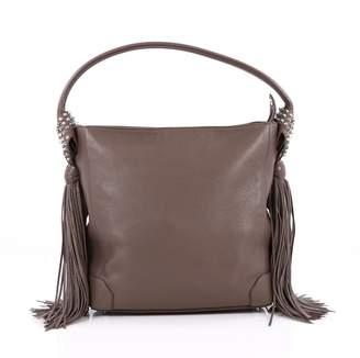 Christian Louboutin Brown Leather Handbag