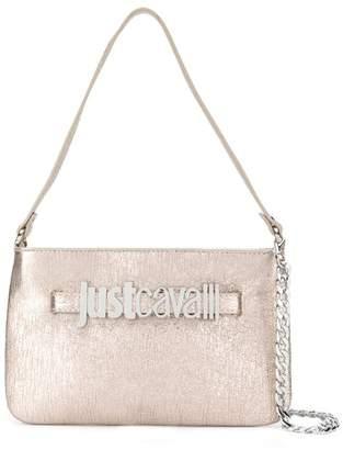 Just Cavalli rose gold tote bag