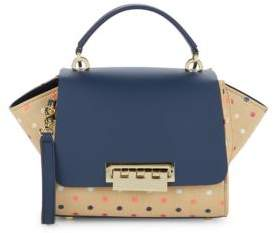 Zac Posen Eartha Polka Dot Crossbody Bag