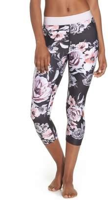 Zella Vera Print Crop Leggings