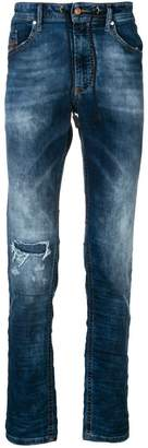 Diesel faded slim fit jeans