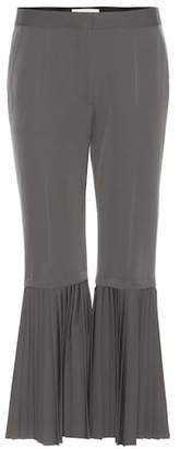 Stella McCartney Imilia pleated wool trousers