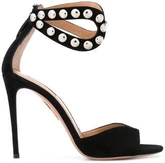 Aquazzura studded stiletto sandals