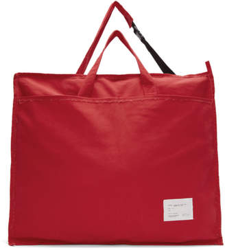 Laundry by Shelli Segal Camiel Fortgens Red Oversized Laundry Bag