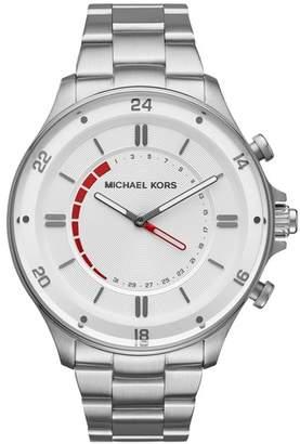 Michael Kors Reid Hybrid Bracelet Watch, 45mm