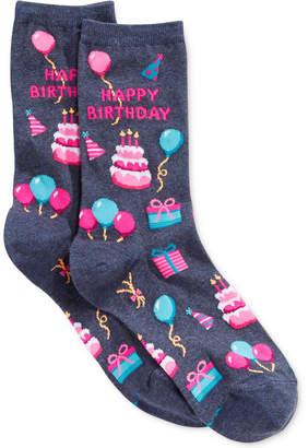 Hot Sox Women Happy Birthday Socks