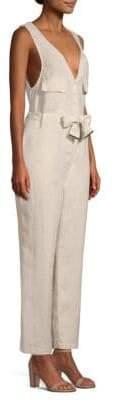 Donna Karan Classic Linen Jumpsuit