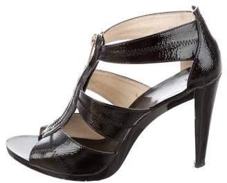 MICHAEL Michael Kors Leather Zip Sandals