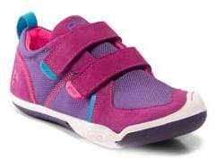 Plae Ty Seude and Mesh Sneakers