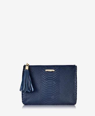 GiGi New York All in One Bag Embossed Python