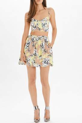 Torn By Ronny Kobo Payton Skirt Floral