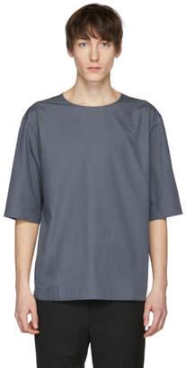 Lemaire Grey Poplin T-Shirt