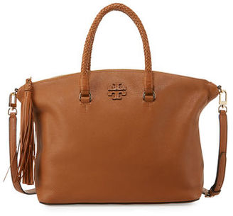 Tory Burch Taylor Leather Satchel Bag $495 thestylecure.com