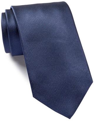 HUGO BOSS Silk Solid Tie $95 thestylecure.com