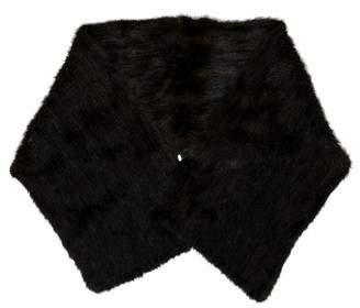 Adrienne Landau Mink Knit Stole