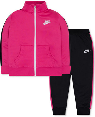 Nike 2-Pc. Track Suit, Toddler & Little Girls (2T-6X) $48 thestylecure.com