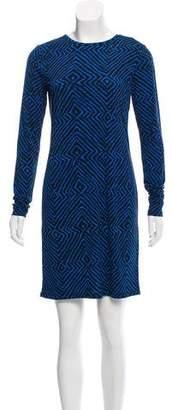 MICHAEL Michael Kors Printed Long Sleeve Dress w/ Tags