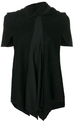 Comme des Garcons Pre-Owned lace panelled blouse