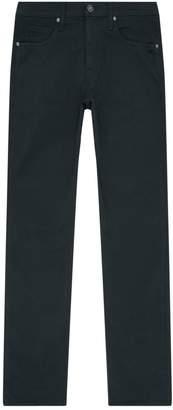 Paige Slim Fit Cotton Trousers