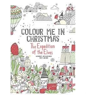 Hardie Grant Colour Me In Christmas