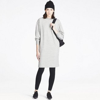 UNIQLO Women's Sweatshirt Dress $19.90 thestylecure.com