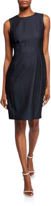 Calvin Klein Denim Sleeveless Sheath Dress