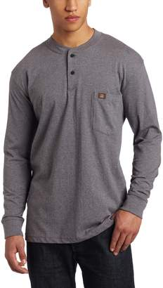 Wrangler Men's Riggs Workwear Big and Tall Long Sleeve Henley