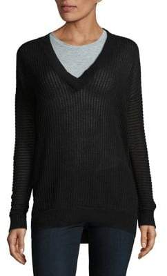 Vero Moda Long-Sleeve Ribbed Sweater