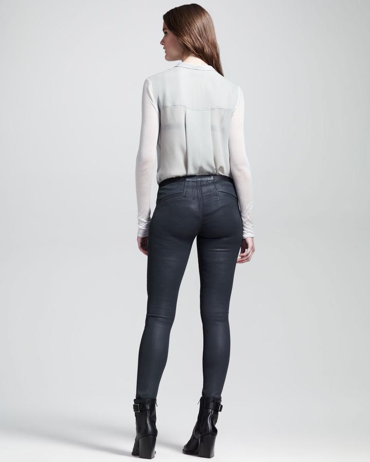 Helmut Lang HELMUT Elst Quake Stretch Legging Jeans