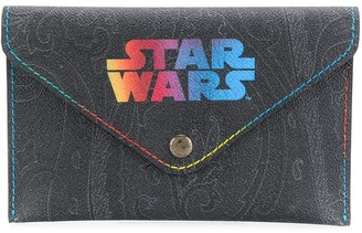 Etro printed Star Wars clutch bag